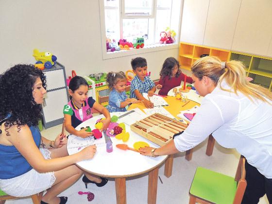 Özel Mor Efrem Süryani Anaokulu öğrencileri