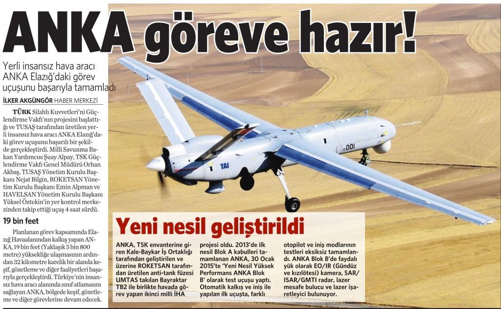 6 Şubat 2016 Vatan Gazetesi 12. sayfa