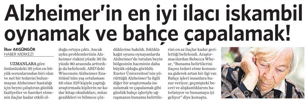 28 Temmuz 2014 - Vatan Gazetesi