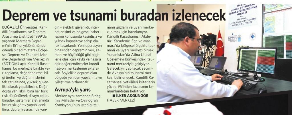18 Ağustos 2014 - Vatan Gazetesi