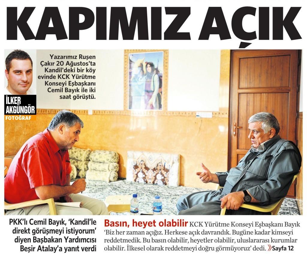 23 Ağustos 2014 - Vatan Gazetesi