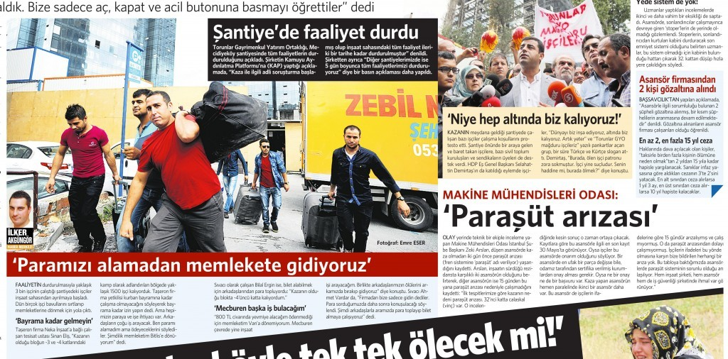 9 Eylül 2014 - Vatan Gazetesi