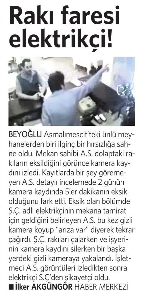 2 Eylül 2014 - Vatan Gazetesi 3. sayfa