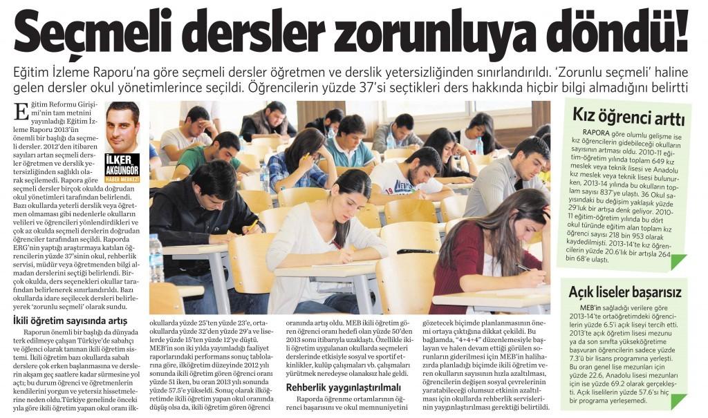 5 Ekim 2014 -Vatan Gazetesi 5. sayfa