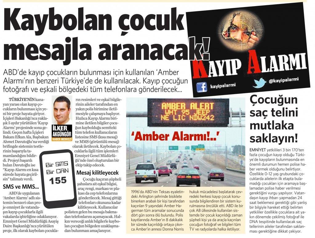 27 Ekim 2014 Vatan Gazetesi 4. sayfa