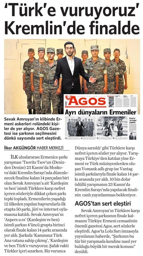 31 Ekim 2014 Vatan Gazetesi 5. sayfa
