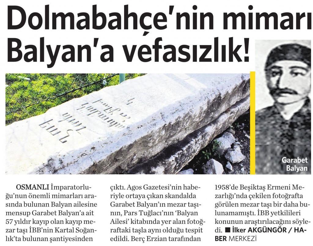 23 Ocak 2015 Vatan Gazetesi 6. sayfa