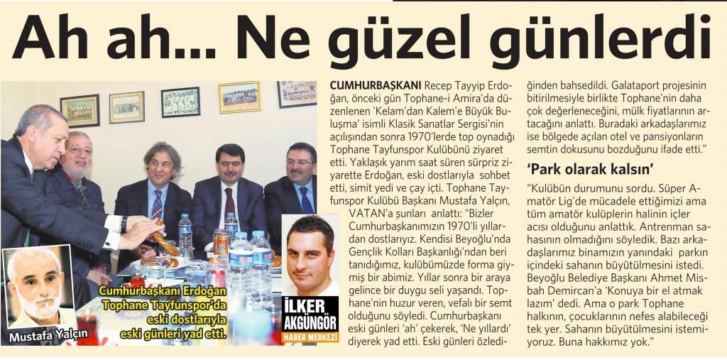 6 Mart 2015 Vatan Gazetesi 14. sayfa
