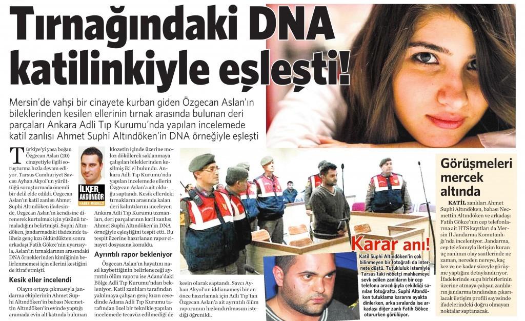 11 Mart 2015 Vatan Gazetesi 12. sayfa
