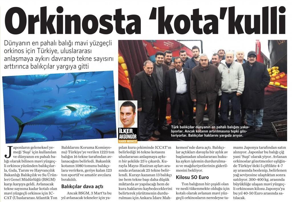 16 Mart 2015 Vatan Gazetesi 2. sayfa