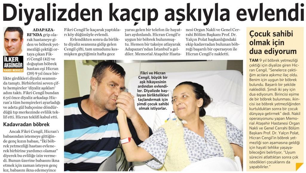 30 Mart 2015 Vatan Gazetesi 4. sayfa
