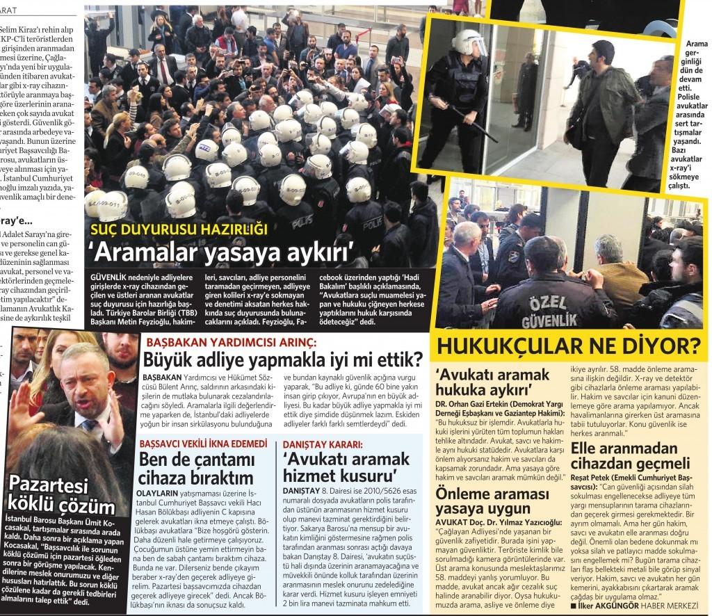 4 Nisan 2015 Vatan Gazetesi 15. sayfa