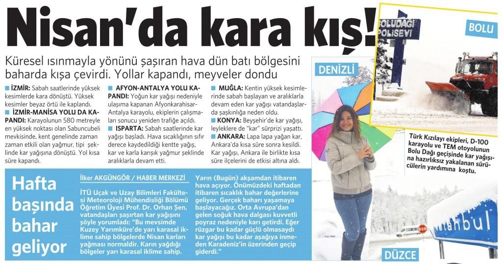 10 Nisan 2015 Vatan Gazetesi 6. sayfa