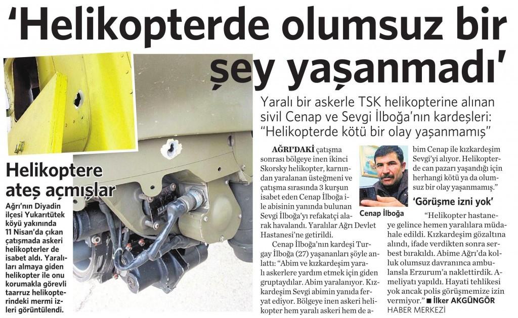 14 Nisan 2015 Vatan Gazetesi 14. sayfa