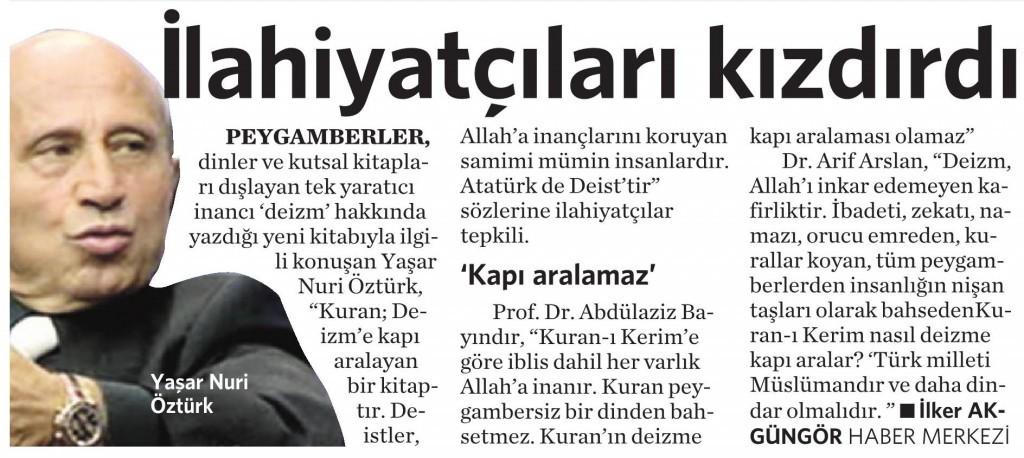 17 Nisan 2015 Vatan Gazetesi 4. sayfa