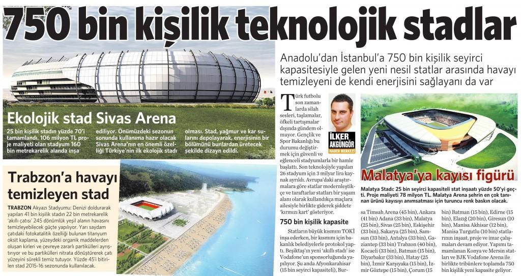 4 Mayıs 2015 Vatan Gazetesi 2. sayfa
