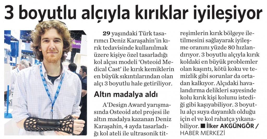 29 Mayıs 2015 Vatan Gazetesi 4. sayfa
