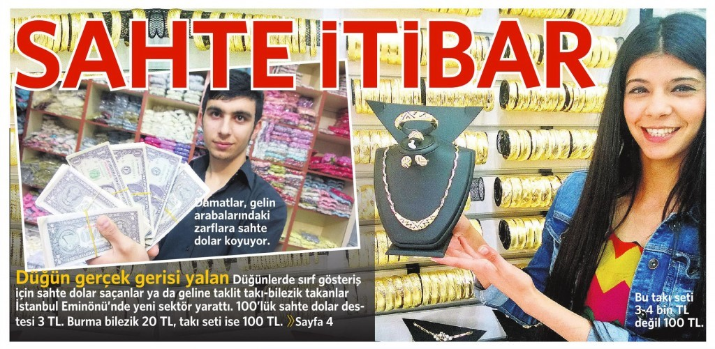 1 Haziran 2015 Vatan Gazetesi 1. sayfa