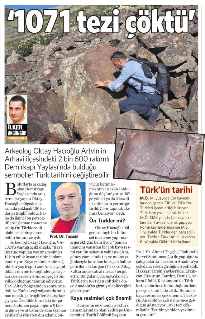 4 Haziran 2015 Vatan Gazetesi 11. sayfa