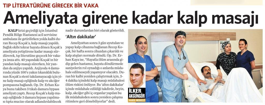 29 Temmuz 2015 Vatan Gazetesi 6. sayfa