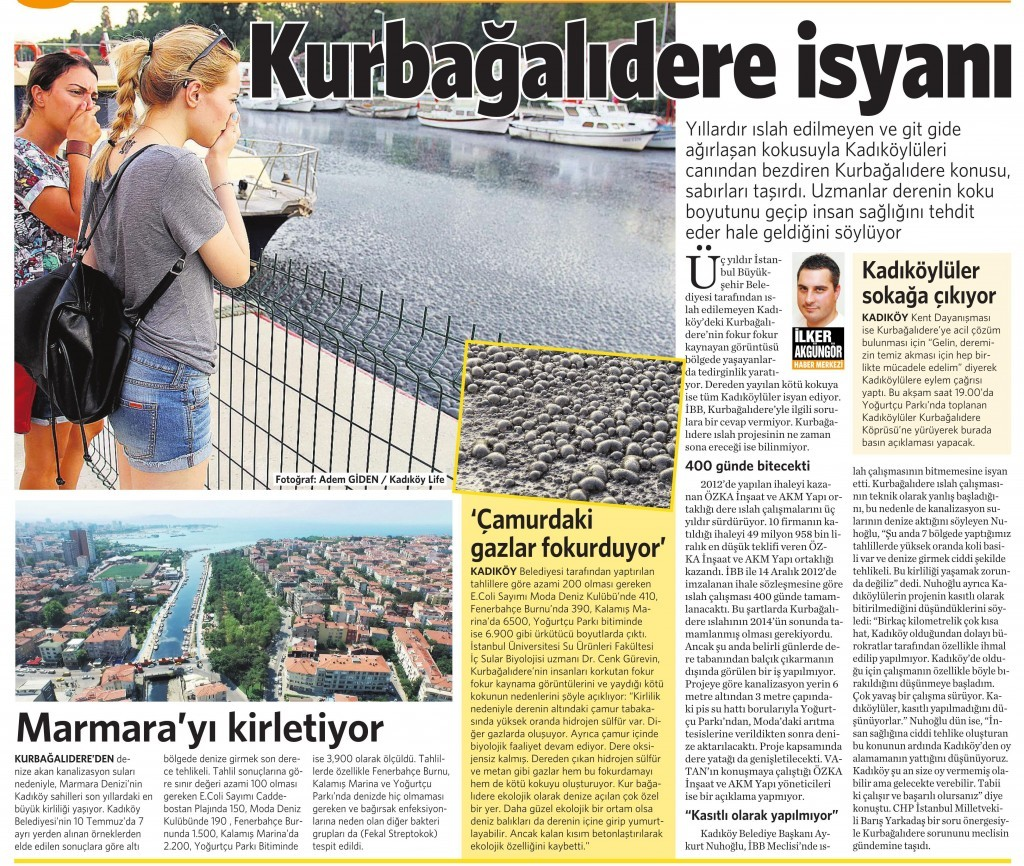 30 Temmuz 2015 Vatan Gazetesi 6. sayfa
