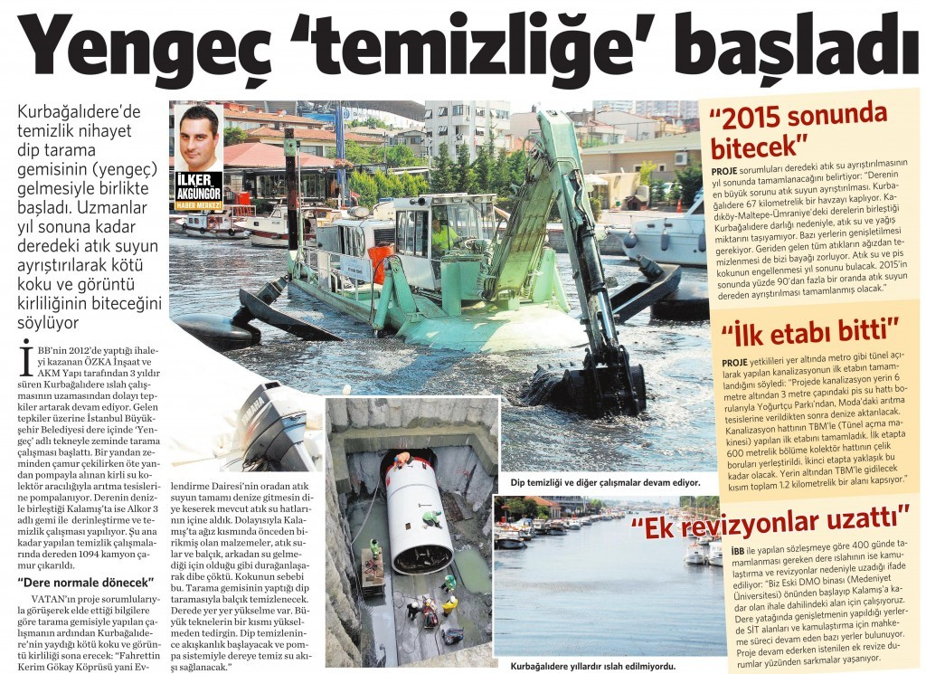 31 Temmuz 2015 Vatan Gazetesi 2. sayfa