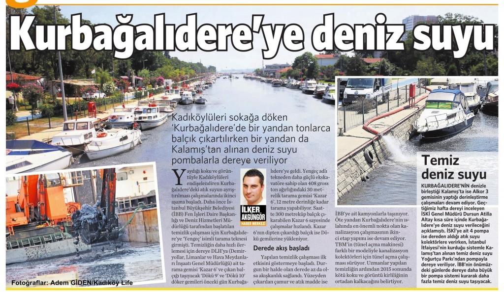 7 Ağustos 2015 Vatan Gazetesi 2. sayfa