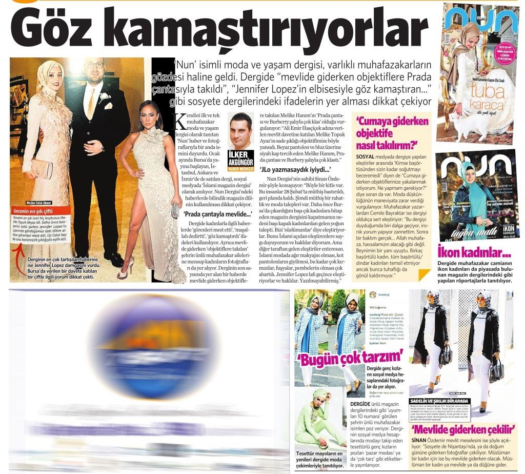 23 Eylül 2015 Vatan Gazetesi 2. sayfa