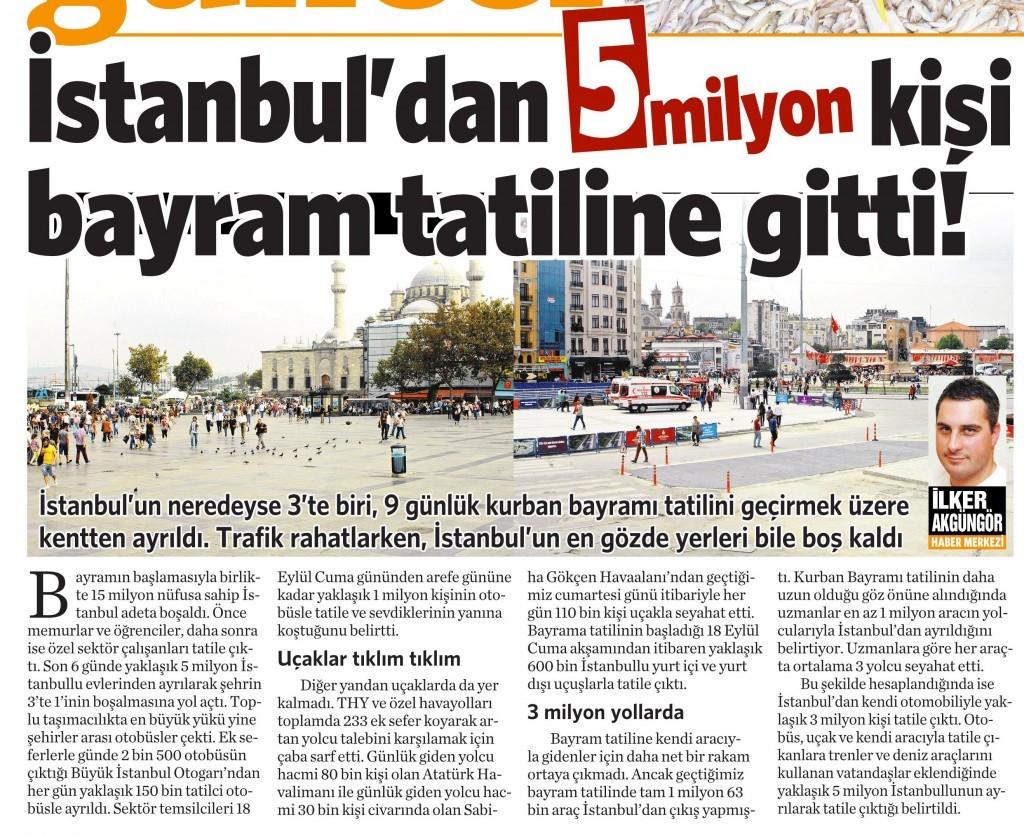 24 Eylül 2015 Vatan Gazetesi 2. sayfa