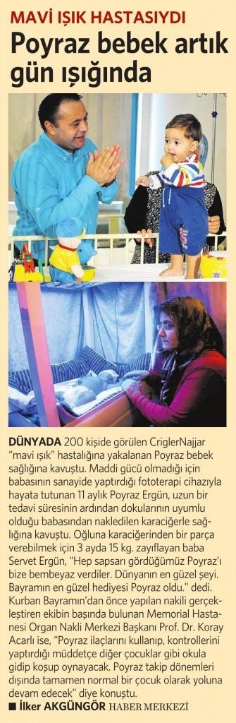 1 Ekim 2015 Vatan Gazetesi 6. sayfa