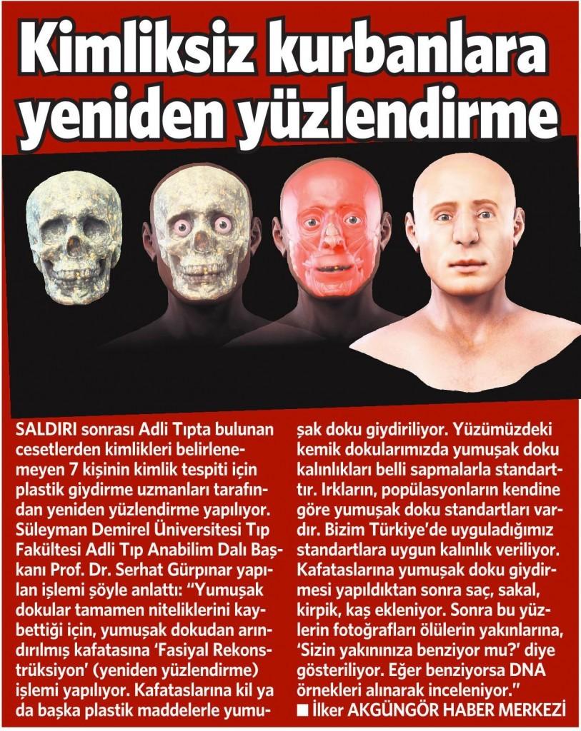 14 Ekim 2015 Vatan Gazetesi 12. sayfa