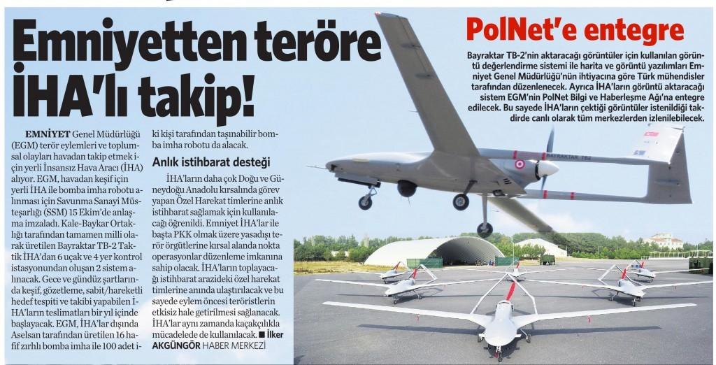 21 Ekim 2015 Vatan Gazetesi 13. sayfa