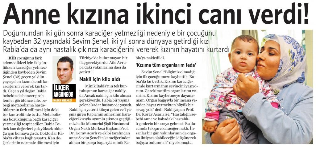 9 Kasım 2015 Vatan Gazetesi 4. sayfa