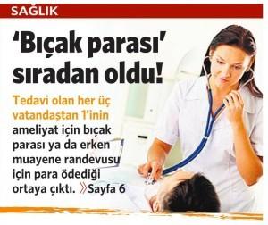 11 Kasım 2015 Vatan Gazetesi 6. sayfa