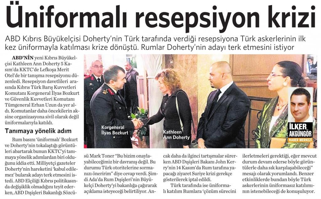 14 Kasım 2015 Vatan Gazetesi 17. sayfa