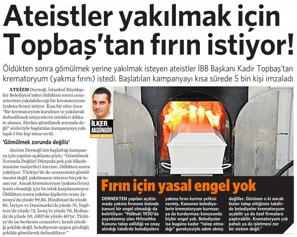 24 Kasım 2015 Vatan Gazetesi 5. sayfa
