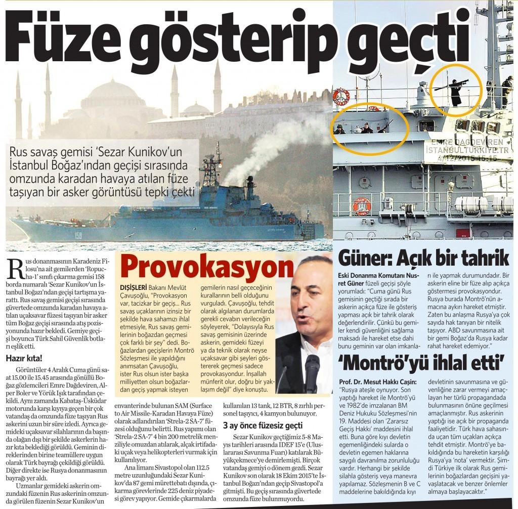 7 Aralık 2015 Vatan Gazetesi 13. sayfa