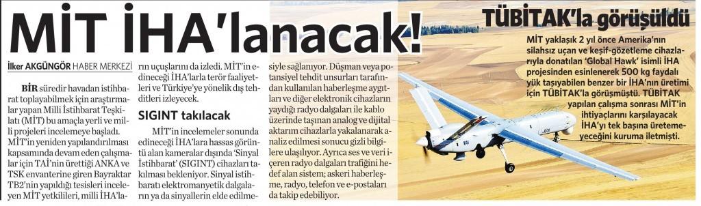 16 Aralık 2015 Vatan Gazetesi 12. sayfa