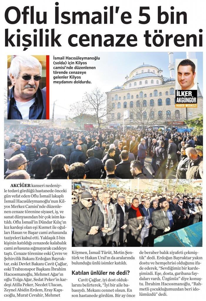 25 Aralık 2015 Vatan Gazetesi 4. sayfa