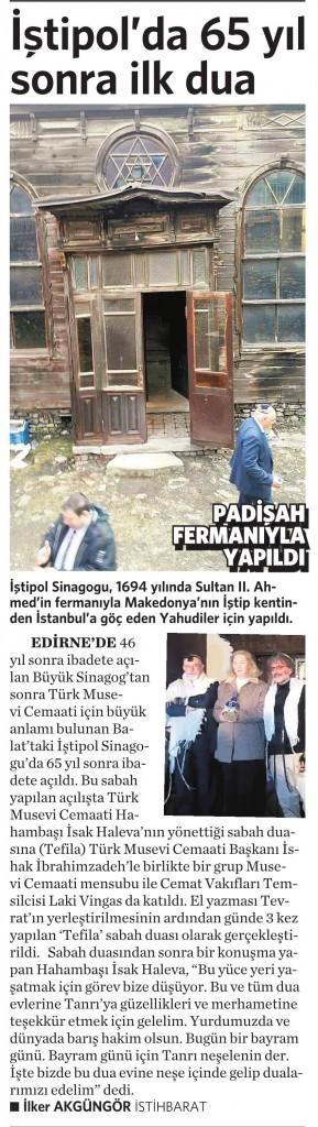 8 Ocak 2016 Vatan Gazetesi 5. sayfa