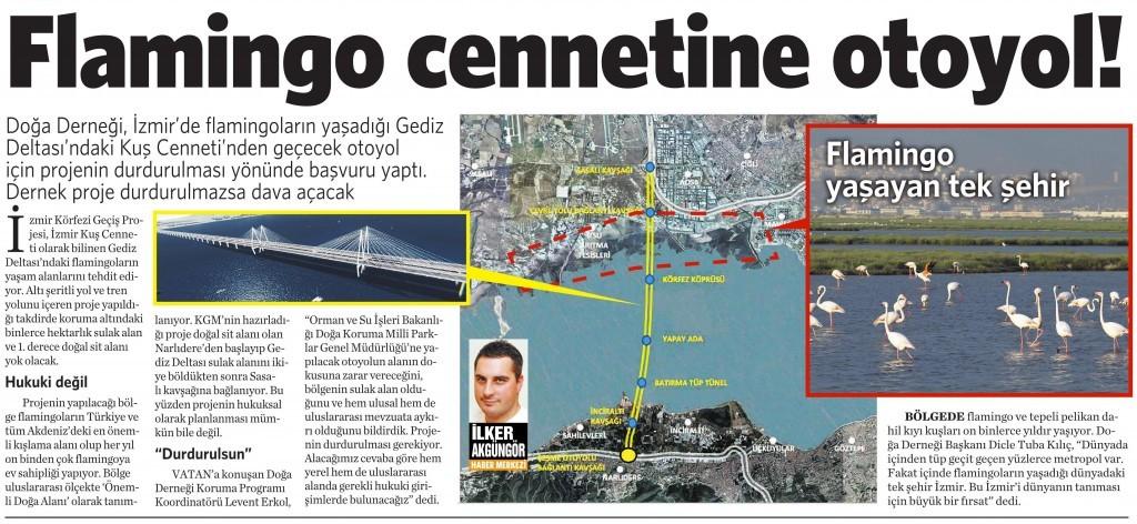 16 Ocak 2016 Vatan Gazetesi 2. sayfa
