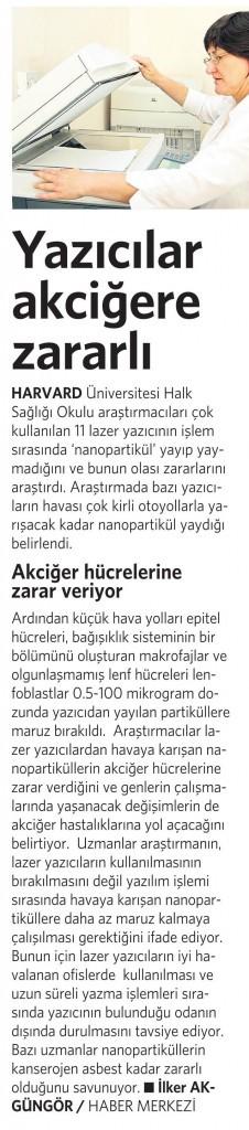 1 Şubat 2016 Vatan Gazetesi 4. sayfa