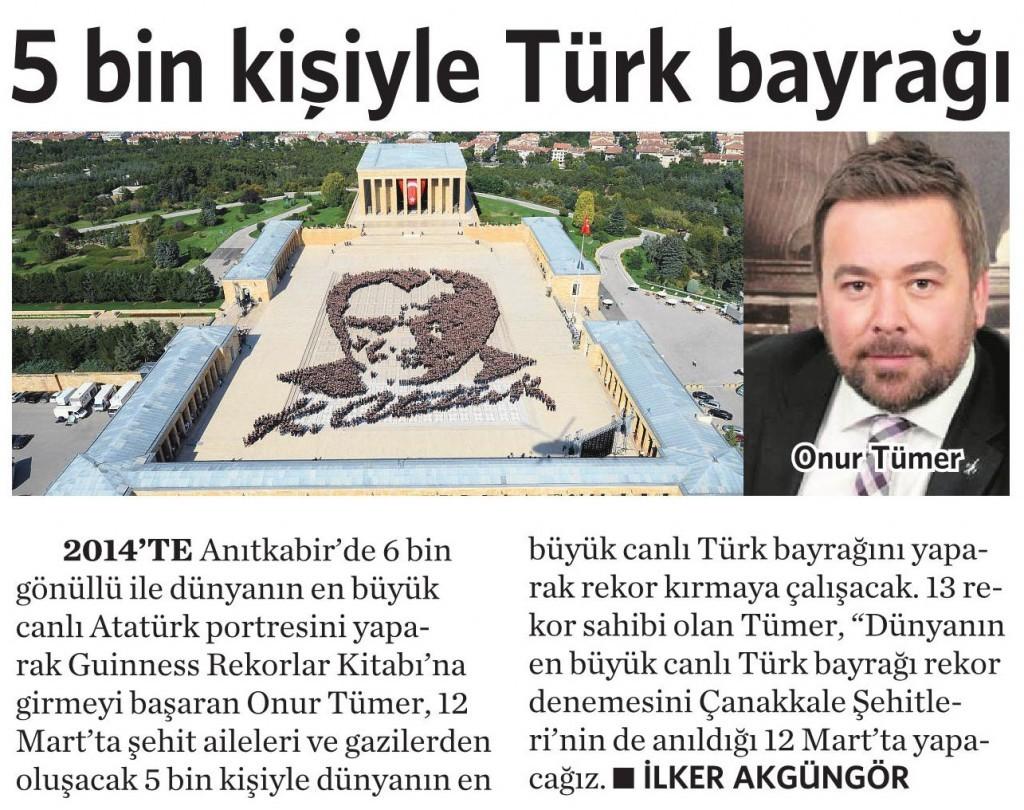 4 Şubat 2016 Vatan Gazetesi 2. sayfa