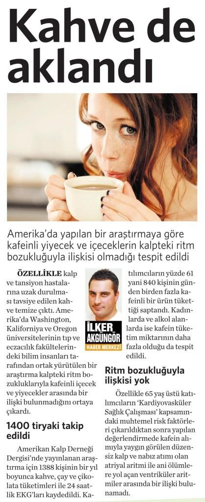 8 Şubat 2016 Vatan Gazetesi 4. sayfa