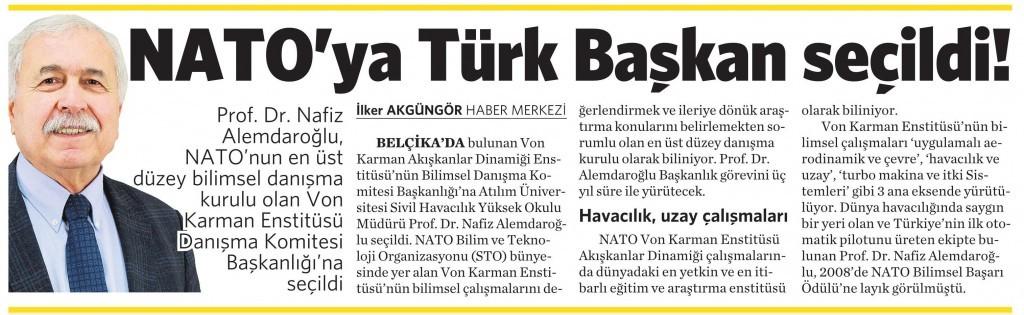 12 Şubat 2016 Vatan Gazetesi 4. sayfa