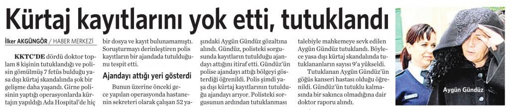 7 Mart 2016 Vatan Gazetesi 4. sayfa