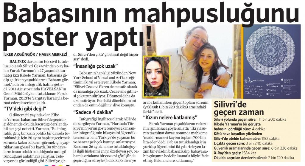5 Nisan 2016 Vatan Gazetesi 14. sayfa