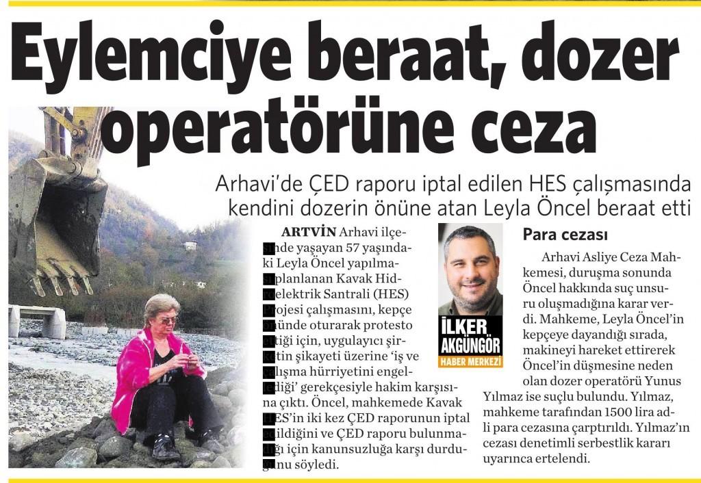8 Nisan 2016 Vatan Gazetesi 2. sayfa