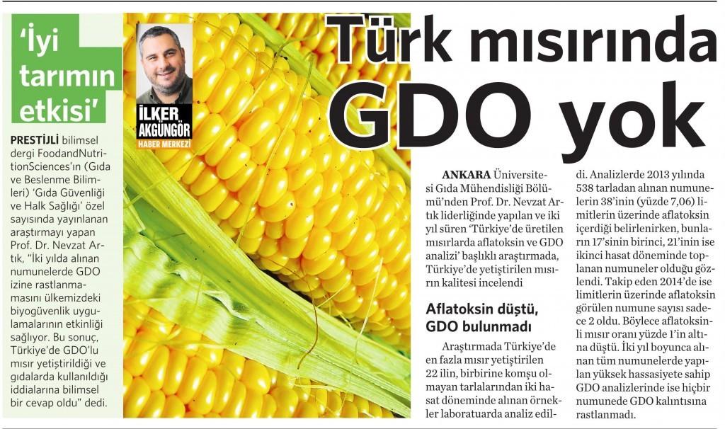 8 Nisan 2016 Vatan Gazetesi 4. sayfa