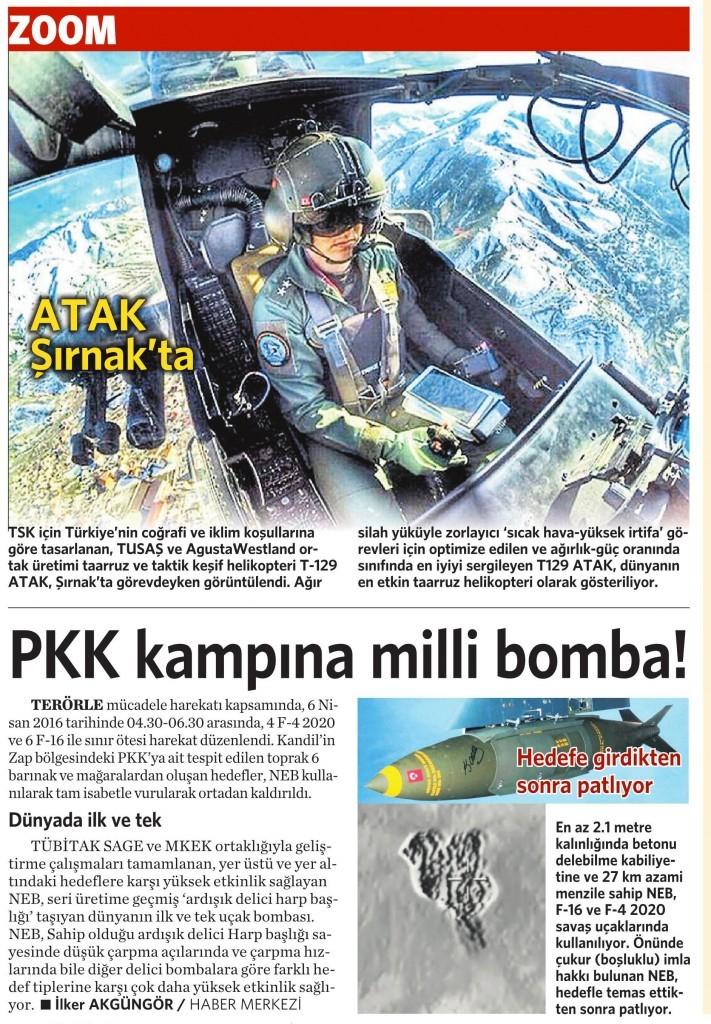 8 Nisan 2016 Vatan Gazetesi 13. sayfa